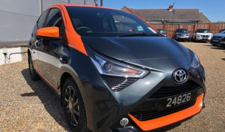 Toyota Aygo JBL Edition Manual with Toyota Safety Sense