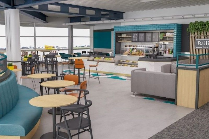 New airport cafes will be