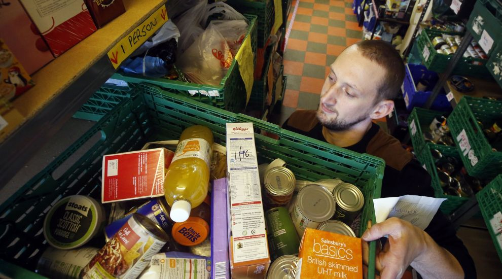 Universal Credit increased reliance on food-banks, minister admits