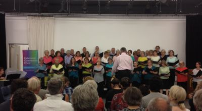 Community choir uses technology to keep rehearsals running