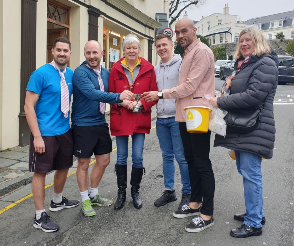 Success for Second Skipton Smith Street Dash in Support of Bowel Cancer Guernsey