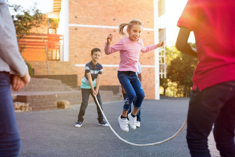 Less than half of children are active enough