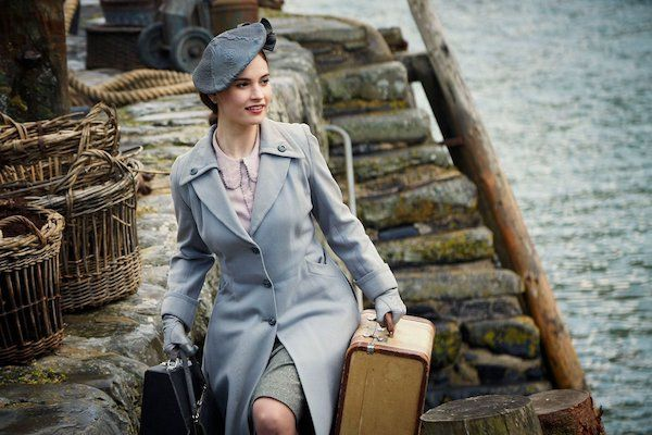 Lily James to visit Guernsey for film premiere