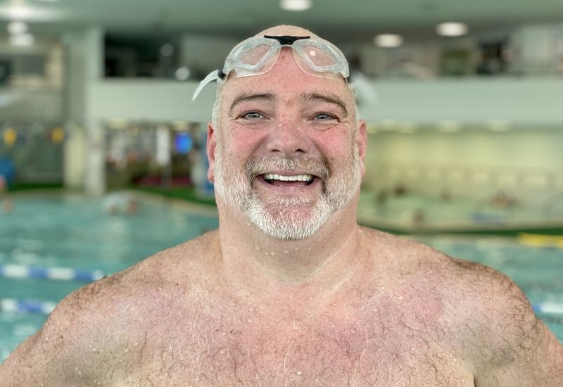 Sarchet swaps oceans for the pool